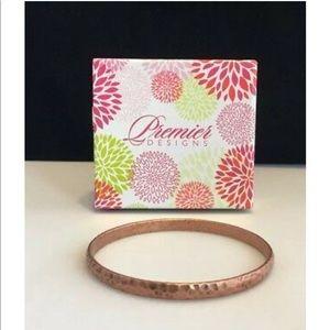 NWT Nuevo Copper Bangle By Premier Designs